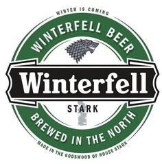 Winterfell Beer: When Personal Honor Just Isn't Intoxicating Enough. #gameofthrones #gameofthronesbeer