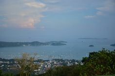 Viw from the hill of phuket