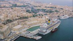 Valletta Waterfront, Malta EDSA Waterfront Revitalization, Urban Design, Landscape Architecture