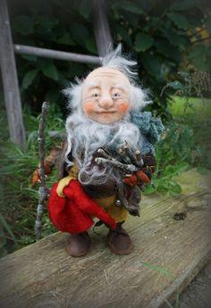 Fiur,  needle / wet felted Gnome https://www.facebook.com/FairyfeltBySiso/?ref=aymt_homepage_panel