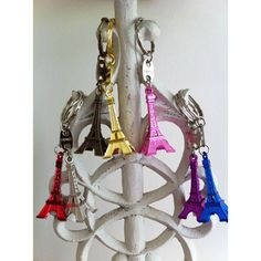 French Party Favors. Eiffel Tower Key Chains to Buy Online