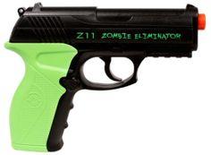 CO2 Crosman Z11 Zombie Eliminator Black FPS 400 Airsoft Pistol Review Buy Now