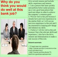 Bank Operations Manager Interview Questions Read more @ http://www ...
