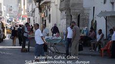 """Proiezione del cortometraggio """"NE SOIS PAS CONCILIANT """" di Maria Giovanna Nuzzi Attraverso una rotazione, da una visione zenitale passiamo ad una visione orizzontale. Dalla capitale Tunisi ci spostiamo verso Redeyef - nel bacino minerario di Gafsa - fino alle pendici del deserto sahariano. Lo spostamento può esser fatto anche all'inverso, allo stesso modo in cui possiamo farlo con la storia: agganciando gli scioperi del 2008 di Redeyef con le lotte anticoloniali"""