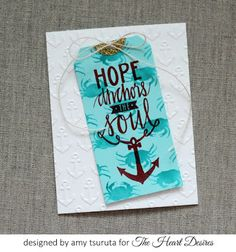 The Heart Desires: Hope Anchors the Soul