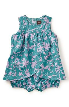Tea Collection 'Crocus' Print Dress (Baby Girls) available at #Nordstrom
