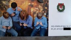 Clever Christmas Card Photo
