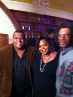 Dad, James and Coco Brown from show.
