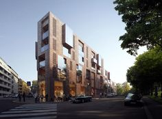 The new high quality housing project will offer innovative urban apartments that will contribute to densify Oslo. It's located in a residential area with buildings from the eighteen century.