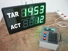 Wireless Smart Production Counter with USB Number Pad.