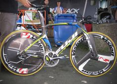 Team NetApp-Endura's Fuji Norcom Straight, Tour of California - 2014