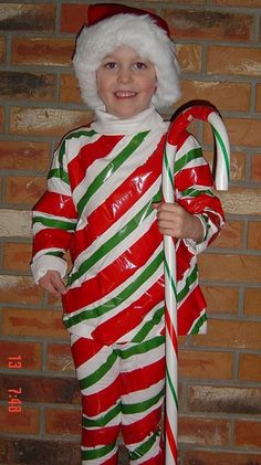 Sweatsuit Costumes Photo Gallery: Candy Cane Sweatsuit Costume