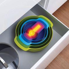 main image of Nest Plus 9: 9-Piece Multi-Colored Set