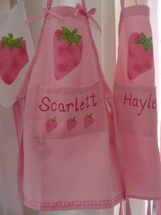 Marci Coombs: Strawberry Shortcake party.