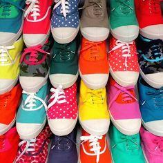 Colorful Bensimon's www.girlsguidetoparis.com