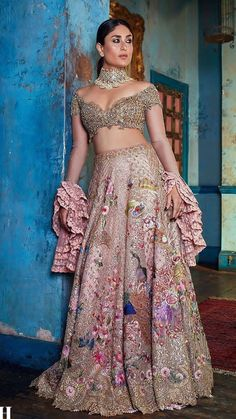All Details You Need to Know About Home Decoration - Modern Indian Bridal Outfits, Indian Bridal Wear, Indian Designer Outfits, Bridal Dresses, Dress Indian Style, Indian Dresses, Bridal Lehenga Collection, Designer Bridal Lehenga, Lehnga Dress