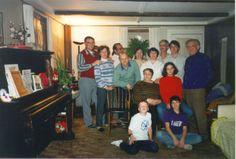 family in Alla's first house : Ralph, Lena, Real, Takhir, Alla, Tusya, Stas, Sveta, Fima, Yanna, Ida, Yakov