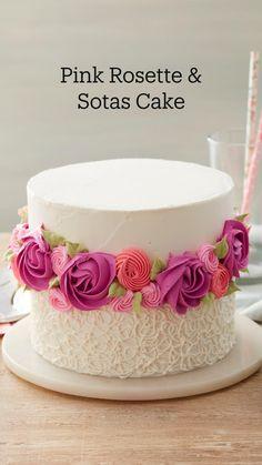 Cake Decorating Frosting, Cake Decorating Designs, Cake Decorating Supplies, Cake Designs, Cookie Decorating, Cake Icing, Fondant Cakes, Cupcake Cakes, Cupcakes