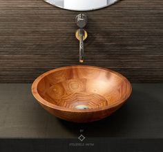 The Afzaro wooden sink collection, available in 4 different kinds of African wood has a classic to minimalist design ensuring perfect harmony with any interior.