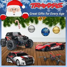 Traxxas Great Gifts For Everyone Age Every Him Her Kids Grandson Granddaughter Father Brother Grandfather Mother R/C Radio Control Remote Car Truck Boat Helicopter Quadcopter 4WD