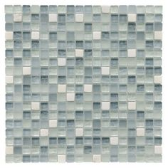 Create a chic backsplash or stylish accent wall with this glazed mosaic tile, the perfect finishing touch for your kitchen or master bath.  ...