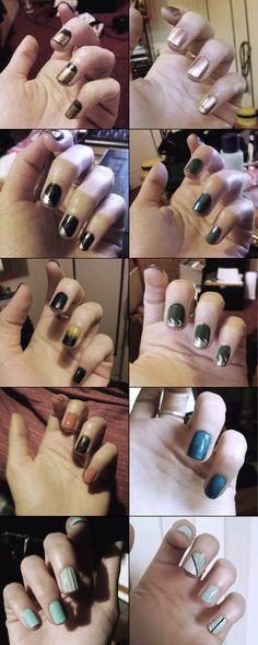 nail art, nail polish