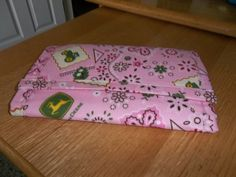 Pink John Deere Tri Fold Wallet by bestdoilies on Etsy, $28.00