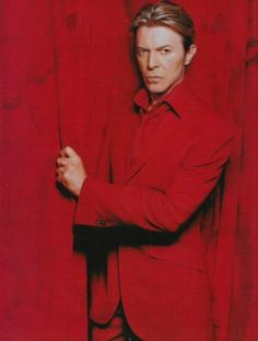Bowie....serious...ly red