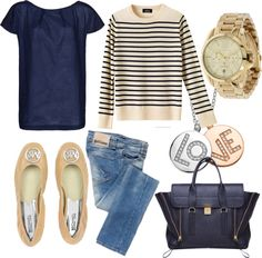 """The ultimate casual weekend outfit! """"Every day chic"""" by livelearnlovebloggse"""