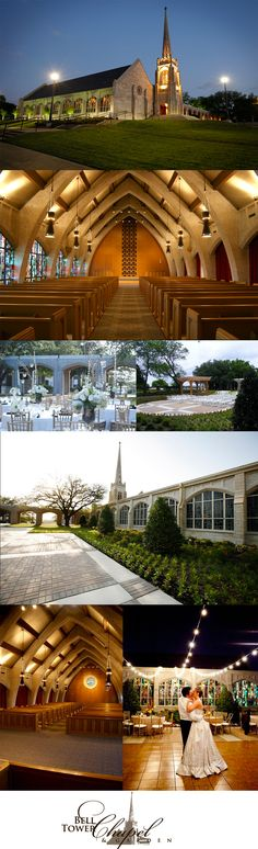 Fort Worth wedding and reception venue the Belltower Chapel & Garden.  this is where Brad and I are thinking of getting married!