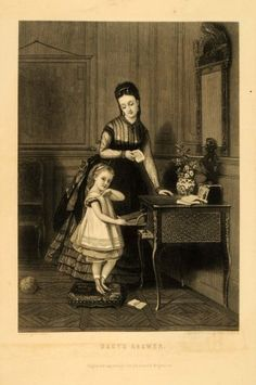 1871 Engraving Babys Answers Brochart Painting « MyStoreHome.com – Stay At Home and Shop