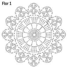 What do you know about crochet mandala pattern? It is a beautiful crochet pattern that can be adapted for creating a functional crochet item. Crochet Mandala is typical in which it has a circular shape and various colors of the… Continue Reading → Motif Mandala Crochet, Crochet Doily Diagram, Crochet Doily Patterns, Crochet Blocks, Crochet Chart, Crochet Squares, Crochet Doilies, Crochet Flowers, Crochet Lace