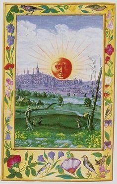 Salomón Trismosin: Sol Naciente sobre la Ciudad (Splendor Solis, 1582)