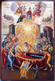 """theosis-project: """" May you all have a blessed Dormition Feast! Most Holy Theotokos save us! """""""