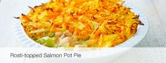 Rosti-topped Salmon Pot Pie