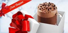 Free Samples, Deals and Coupons for Canadian Residents Tim Hortons, Latte, Chocolate Dreams, Pudding, Free Samples, Coupons, Desserts, Dark, Places