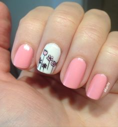 OPI Chic From Ears To Tail, stamping MoYou London Princess 08