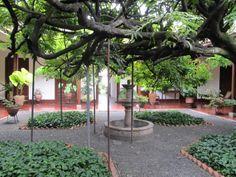 patio central de la casa museo de hernn martnez satizbal cra con calles