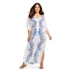 3e5ba39d7137 Lilly Pulitzer for Target Women s Plus Size Kaftan Cover-Up - Wavepool  Curvy Fashion