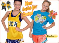 New campwear to keep you looking cute while you work hard! Get it on http://shop.varsity.com