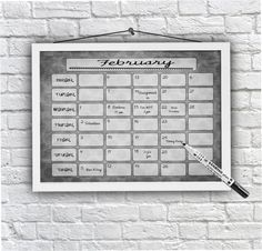 Magnet To Do Board Custom Family Planner A3 By OliHarriCreations Wall