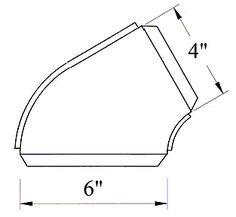 Elbow tutorial fig 7 Sheet Metal Drawing, Sheet Metal Fabrication, Metal News, 60 Degrees, Headers, Pipes, Fig, Metal Working, Change