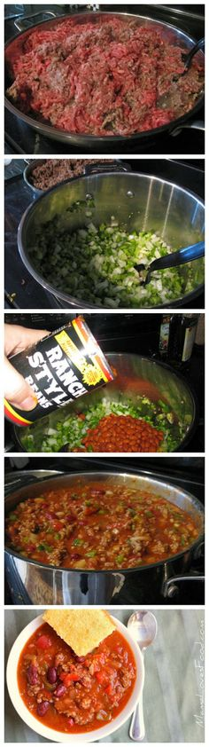 Chili {Wendy's Style}