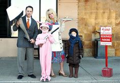 christmas story replica christmas card and 24 other Christmas card pic ideas for family