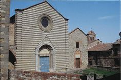 Church of San Francesco in Lucignano (next to town hall)