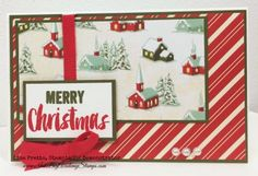 Stampin'Up! Project Life Seasonal Snapshot 2015 stamp set, Stampin'Up! Home for Christmas Designer Series Paper, Merry Christmas, Holiday DIY