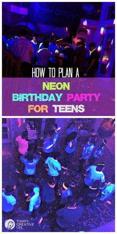 Neon Birthday Party for Teens Neon Birthday Party for Teens Jalita Miller rougejay Glow party Let me show you how easy it is to plan nbsp hellip ideas party Dance Party Birthday, 13th Birthday Parties, Birthday Party For Teens, 14th Birthday, Golden Birthday, Boy Birthday, Glow In Dark Party, Glow Stick Party, Glow Sticks