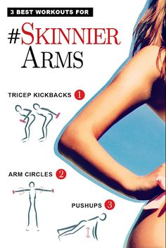 How to Get Skinny Arms Fast | Tricksly
