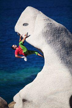 Capo Testa - bouldering in Capo Testa, Sardinia Sport Climbing, Rock Climbing, Trekking, Escalade, Adventure Photos, Rappelling, Skydiving, Extreme Sports, Sardinia