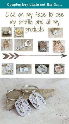 Couples key chain set His Only, Her Only with wedding date and silver key charm. Product Description Couples key chain set This memorable couples key chain set would make perfect gift for that special someone. Whether you're getting married, have friends or family who are getting married, or just looking for a way to constantly remind someone that you love them, these key chains are sure to leave a long lasting impression. Made from 18-gauge tarnish-free aluminum, these oval key chains...